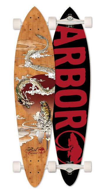 Arbor bamboo fish longboard for Arbor fish longboard