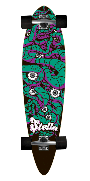 Stella Big Squirm Longboard
